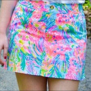 Lilly Pulitzer Nicki Skort in Fan Sea Pants